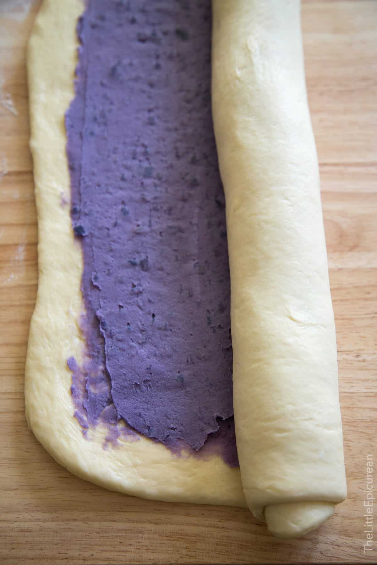 Ube Swirl Bread (Purple Yam)