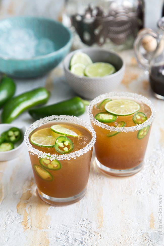 Spicy Jalapeno Margarita