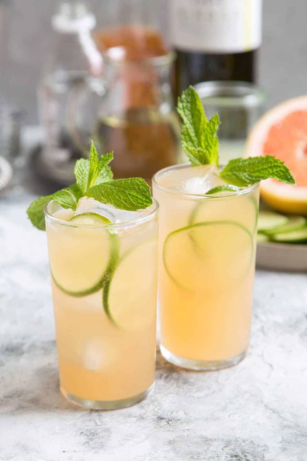 Summer White Port Cocktail