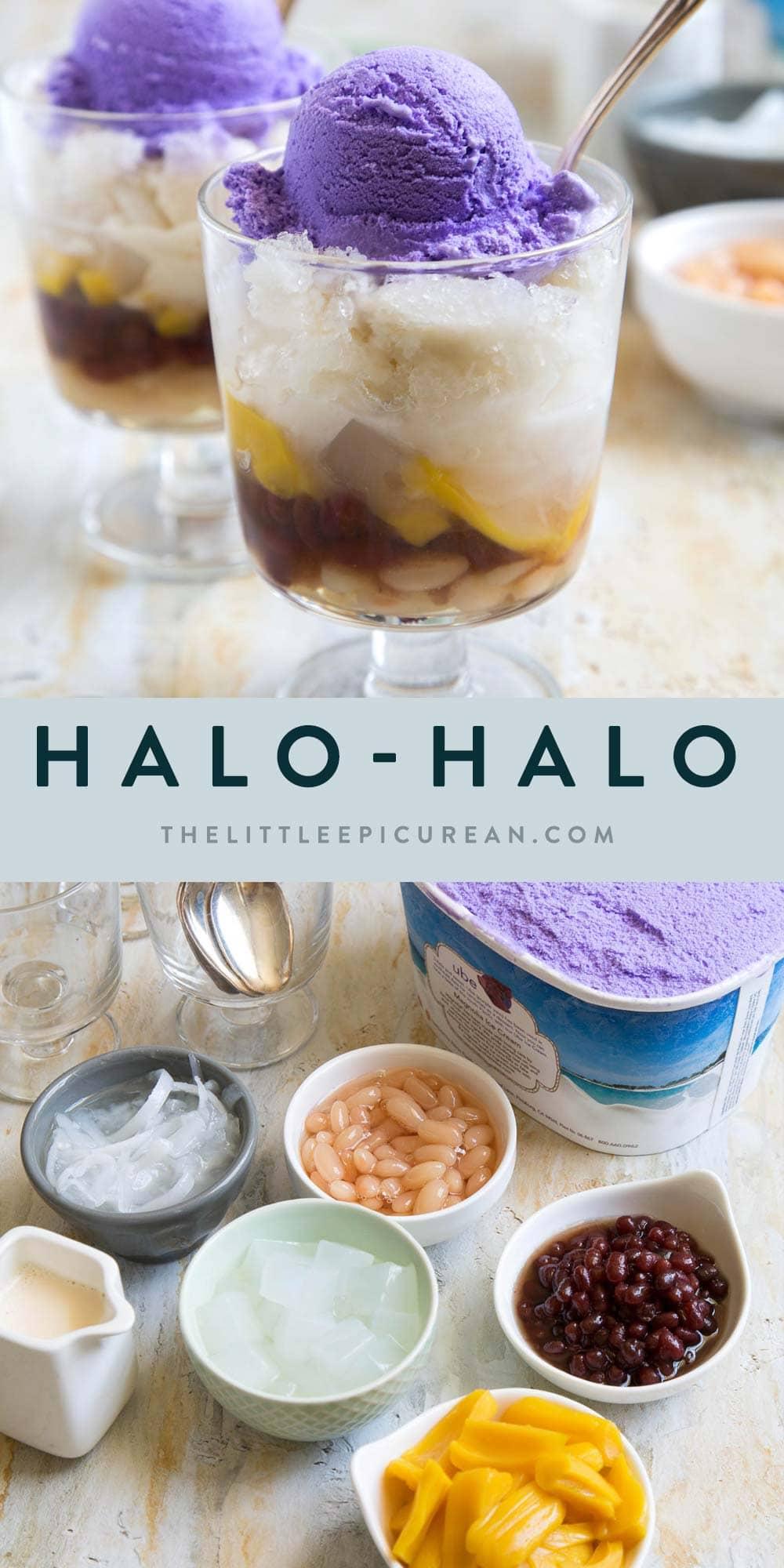 Halo-Halo (Filipino Shaved Iced Sundae)