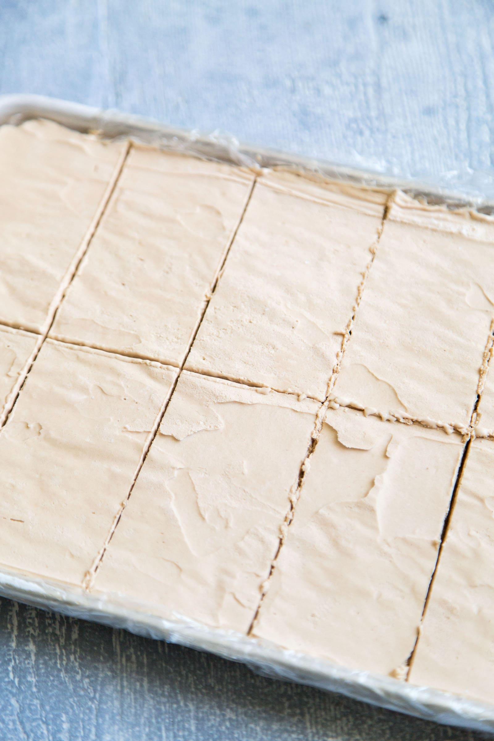 Almond Mocha Ice Cream Bars