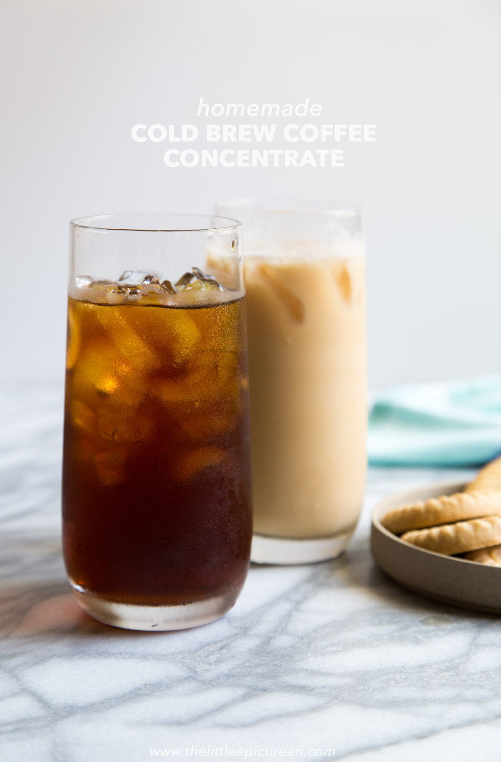 Homemade Cold Brew Coffee Concentrate