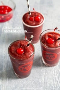 Cherry Jack & Coke Slushie