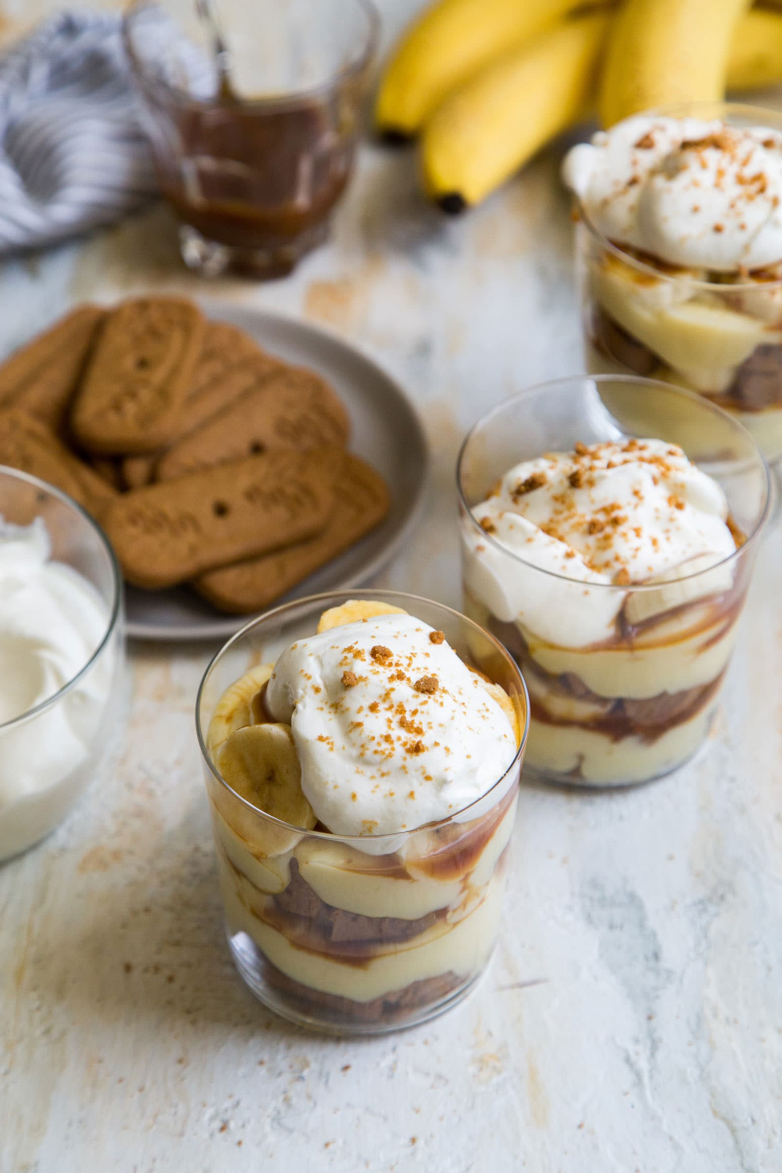 Speculoos Banana Cream Parfait