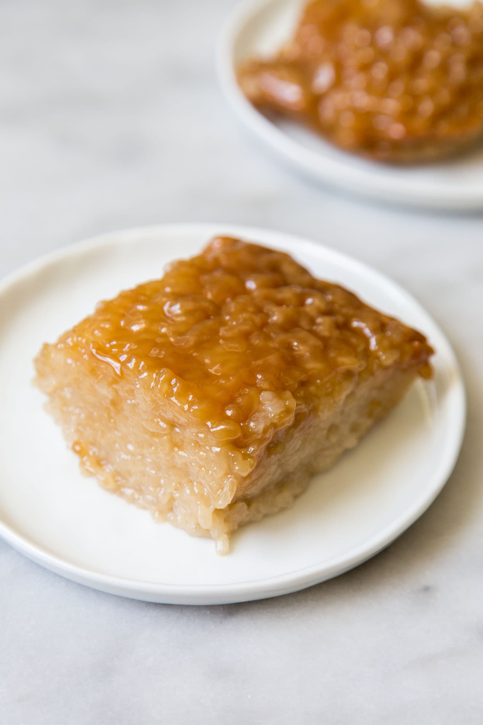 Biko (Filipino Sticky Rice Cake)