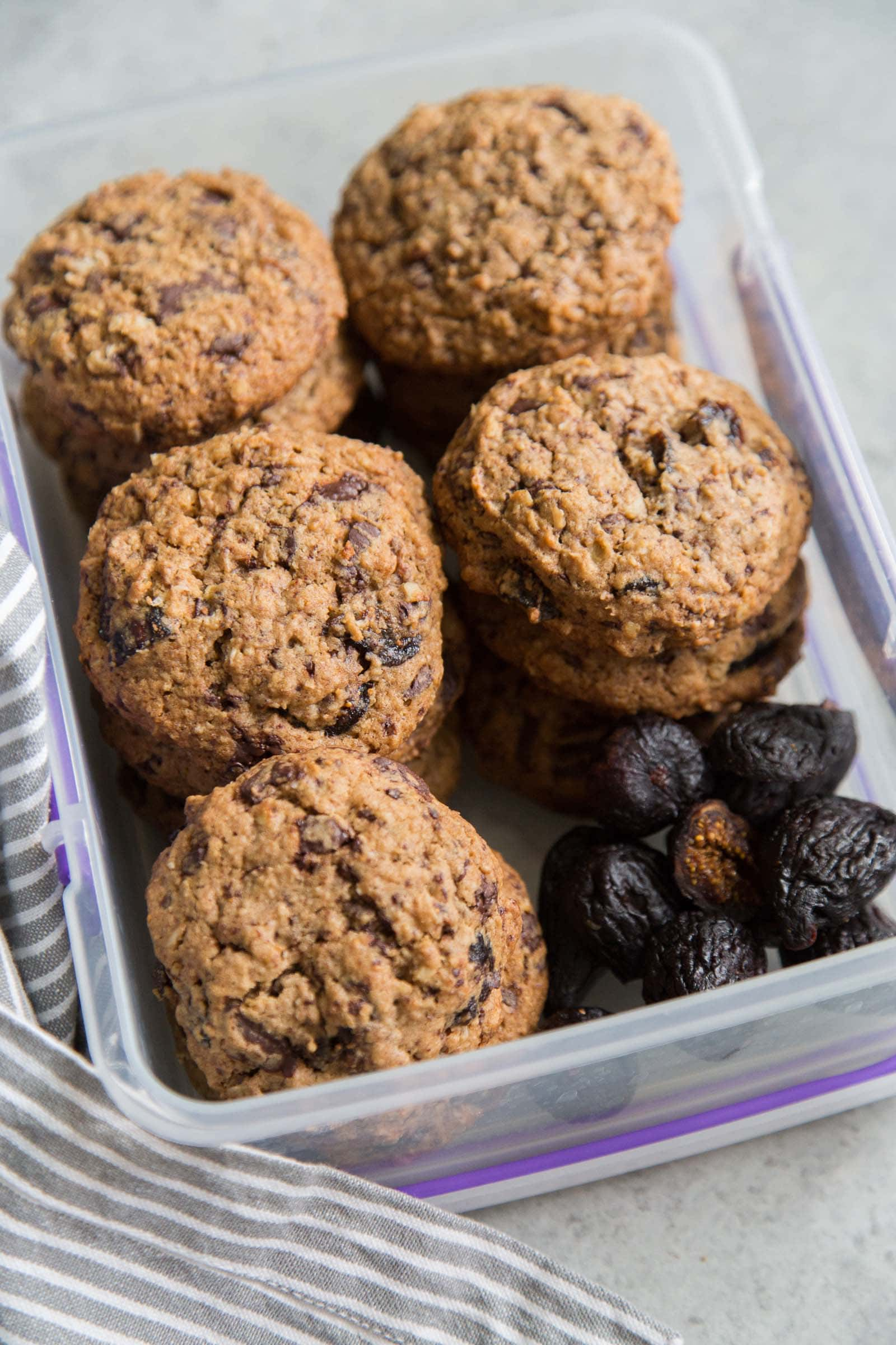 Oatmeal Fig Cookies