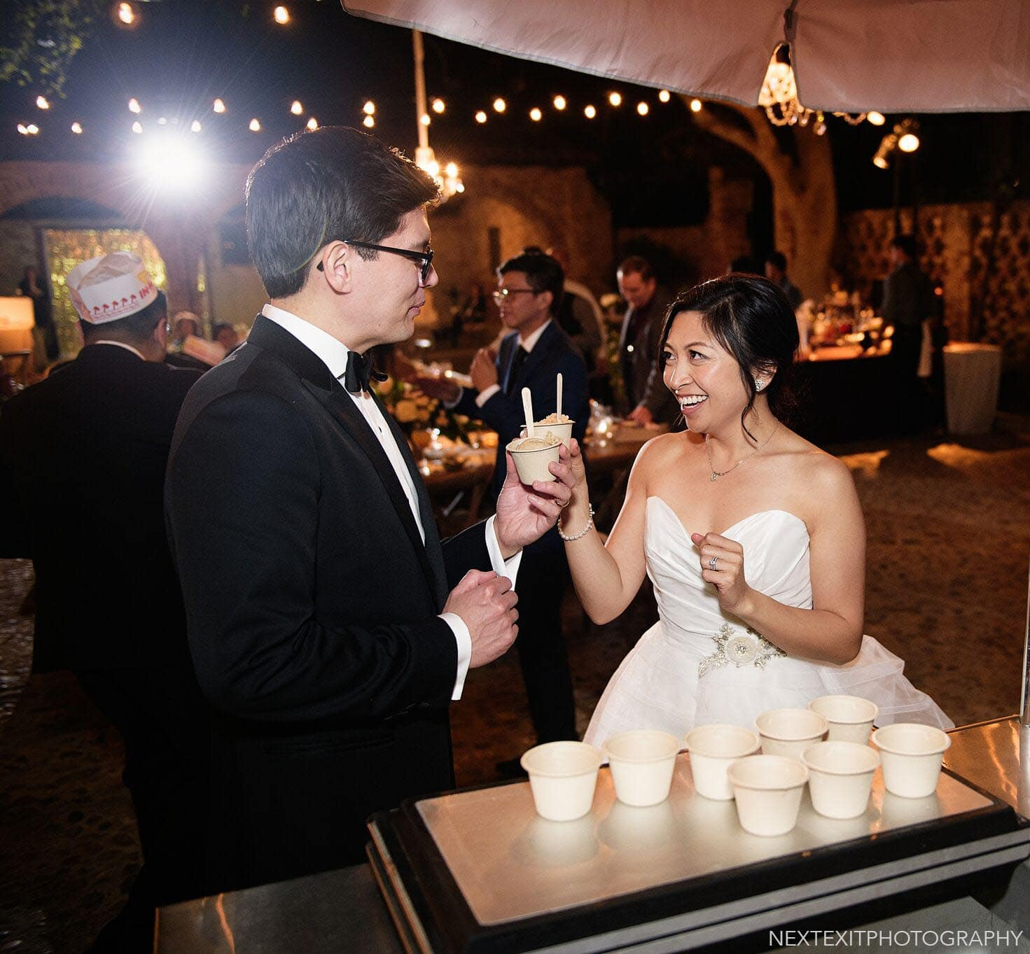 Hummingbird Nest Ranch Wedding Reception