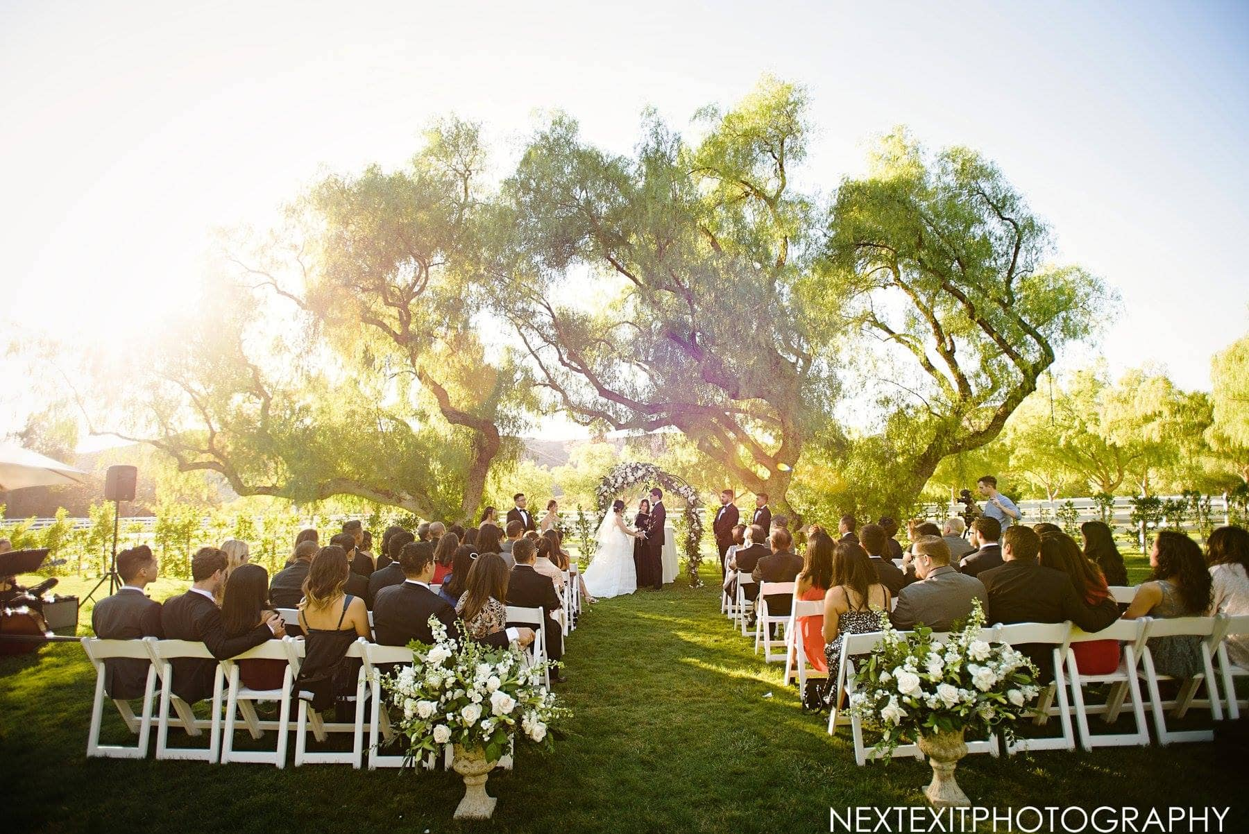 Hummingbird Nest Ranch Romantic Classic Wedding