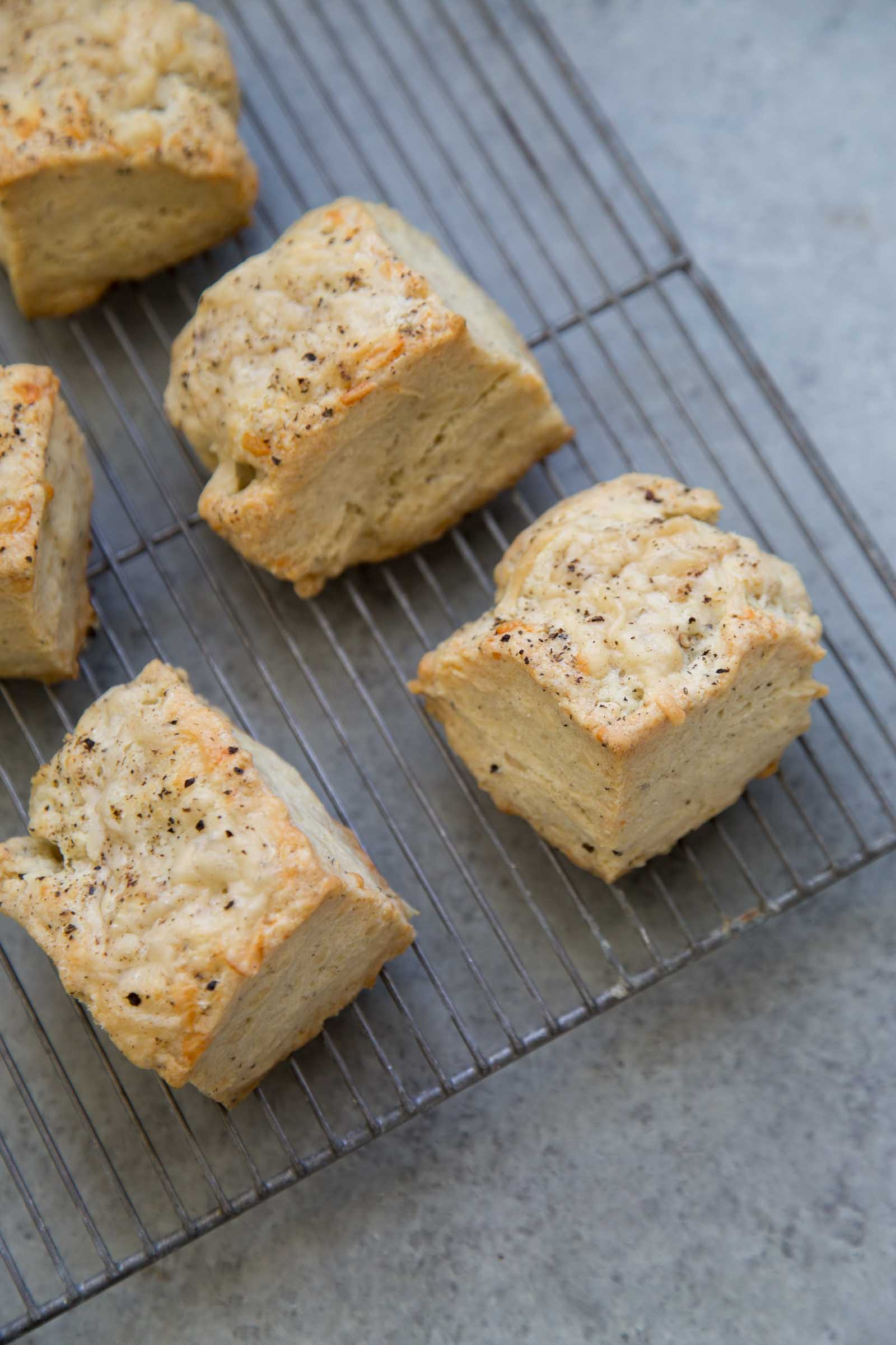 Black Pepper Cheese Biscuits