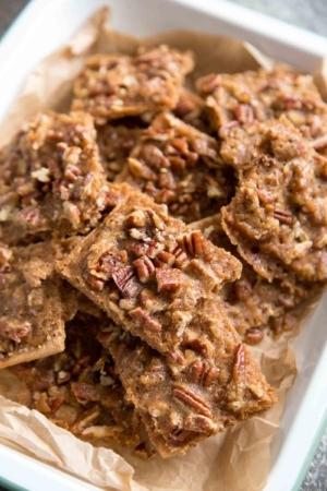 Caramel Pecan Bark