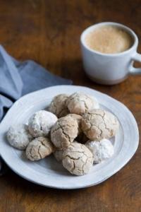 Pecan Hazelnut Meltaway Cookies