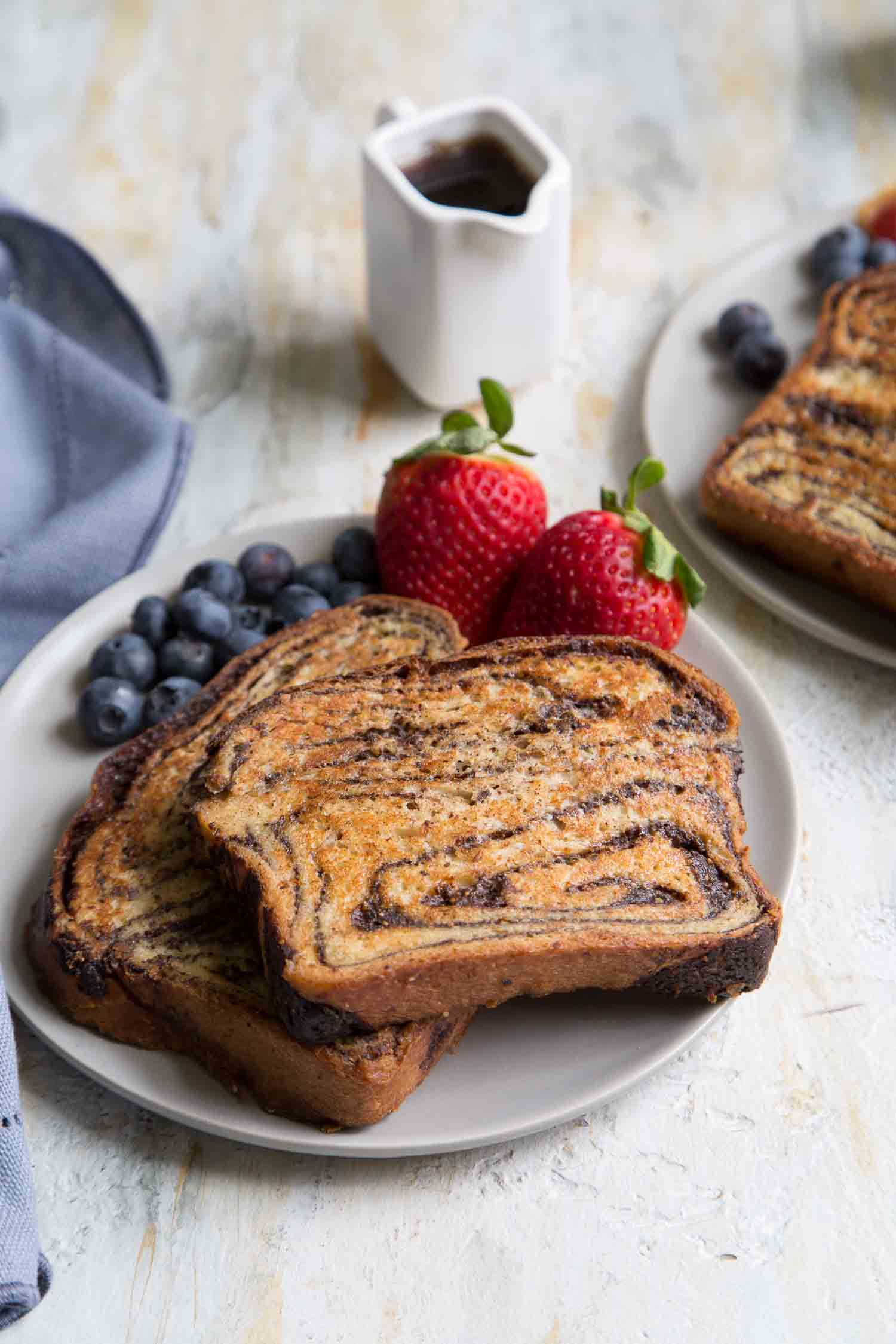 Chocolate Babka French Toast