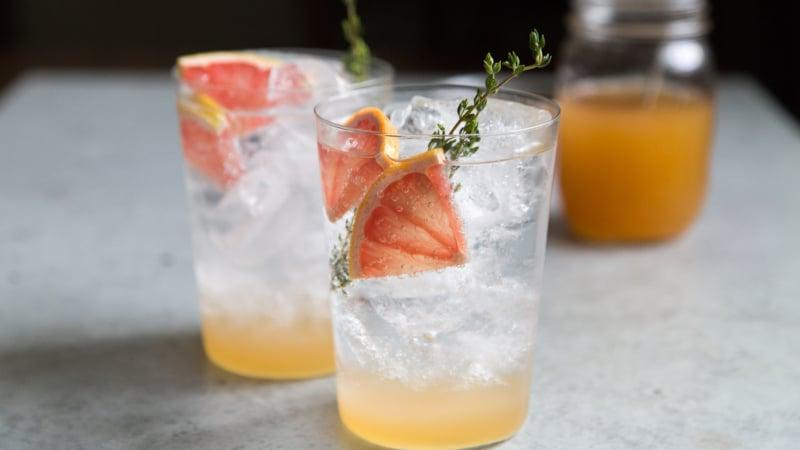 Grapefruit Shrubs