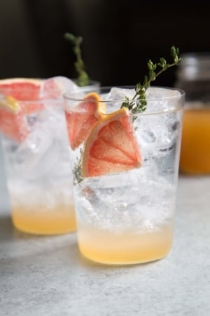 Grapefruit Shrubs