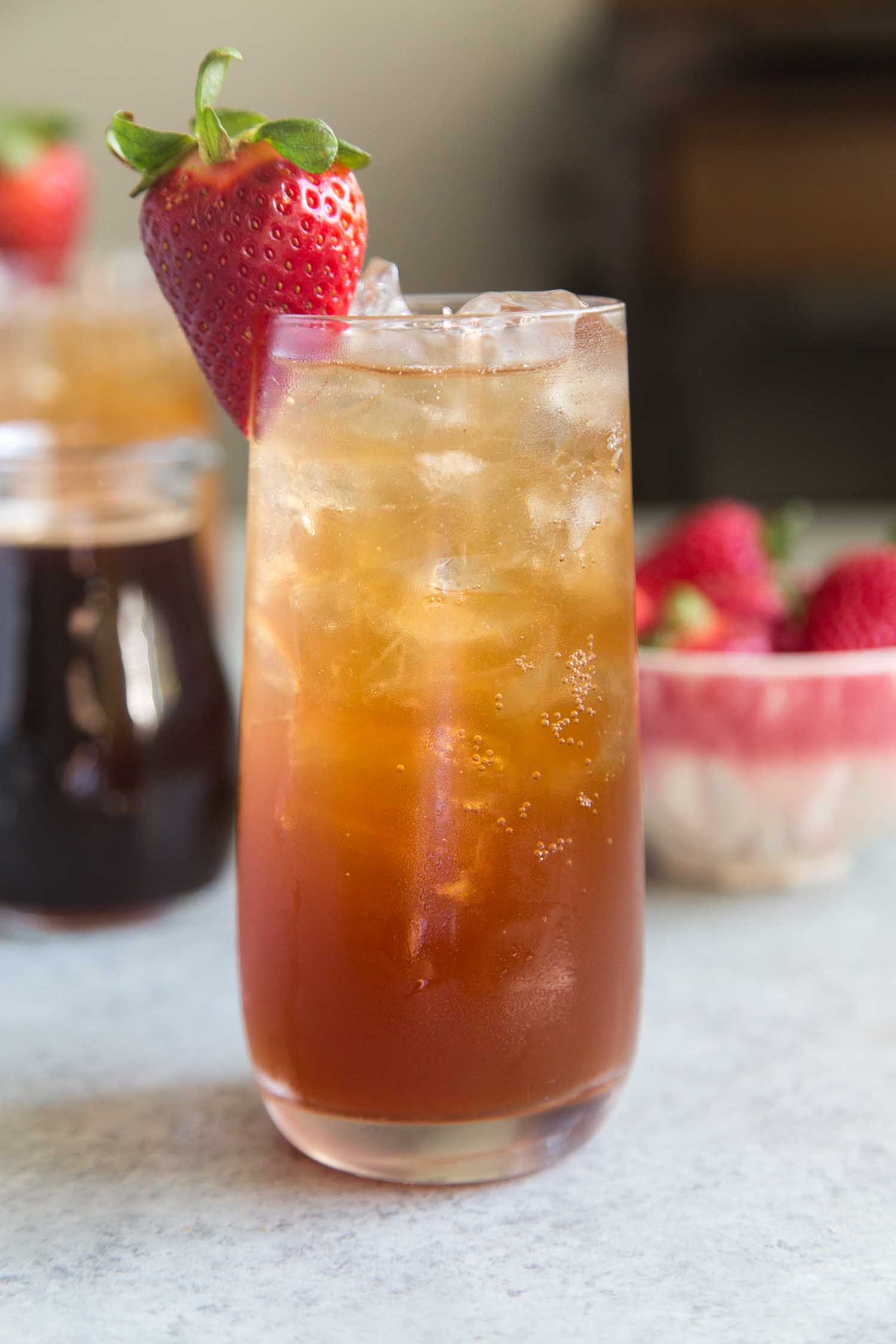 Strawberry Balsamic Shrub