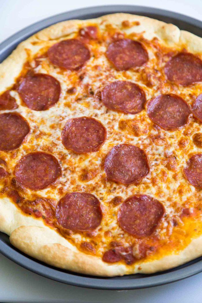 Two Ingredient Pizza Dough The Little Epicurean