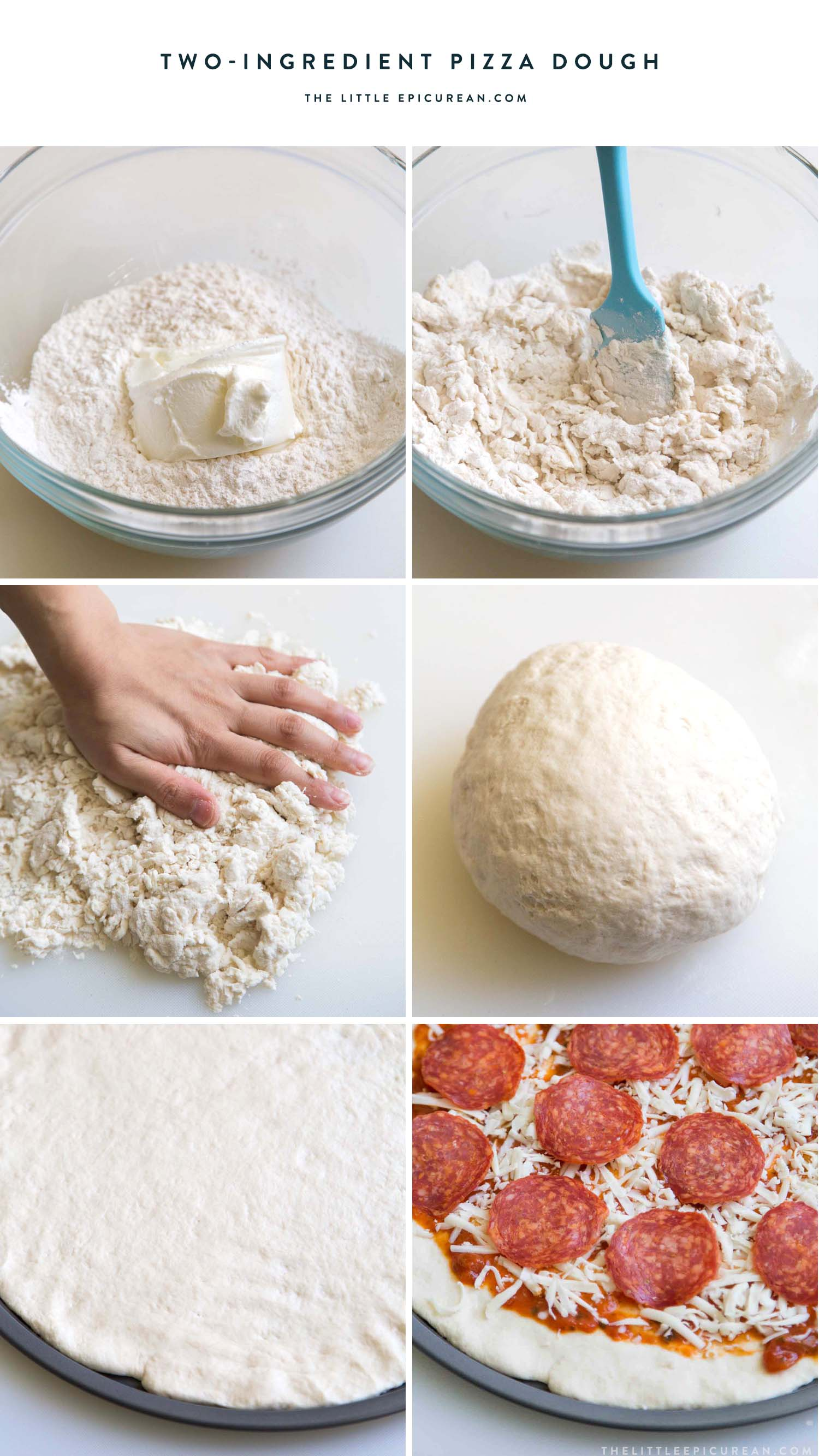 Two Ingredient Pizza Dough