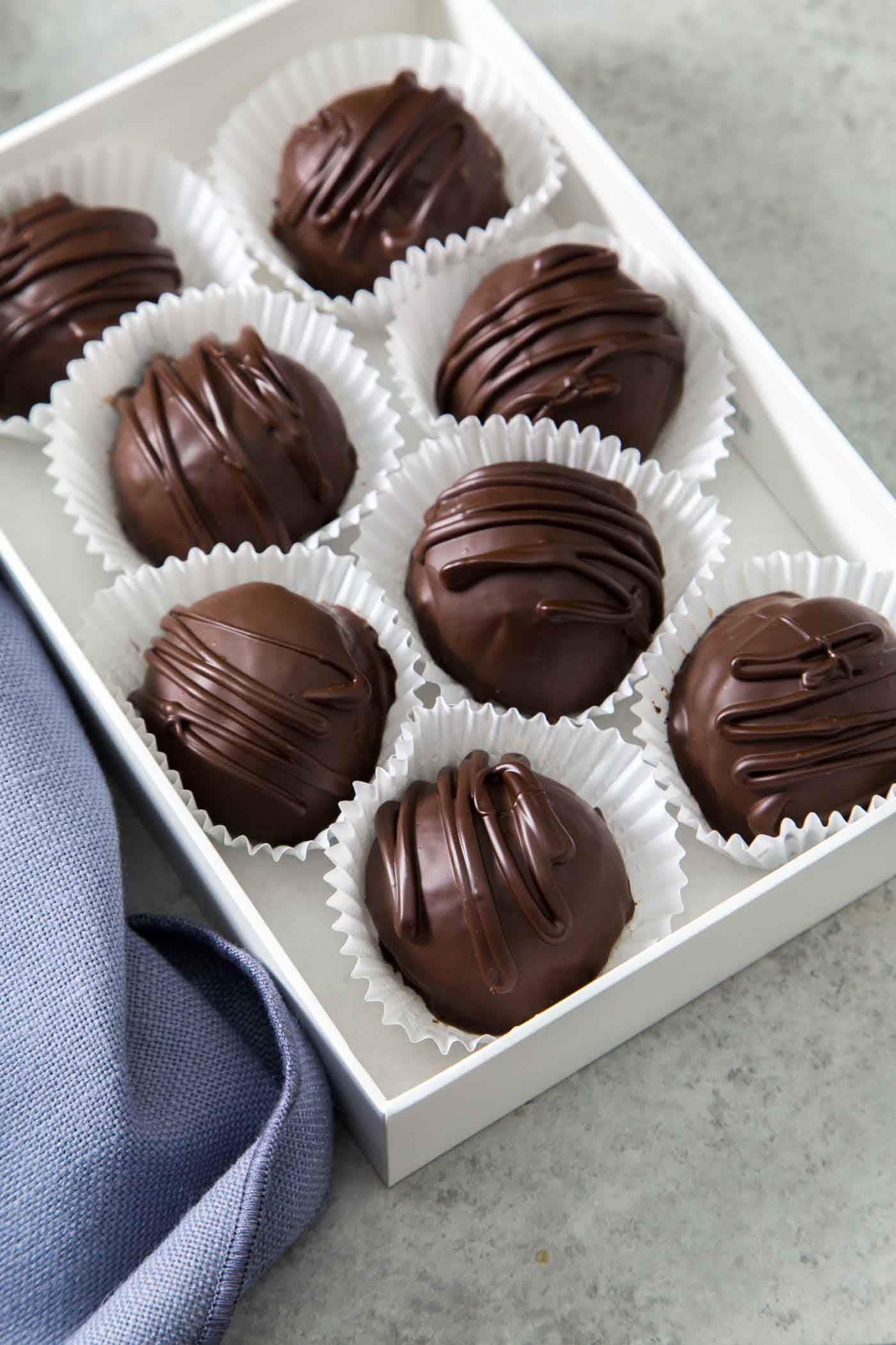Dark Chocolate Almond Joy Truffles