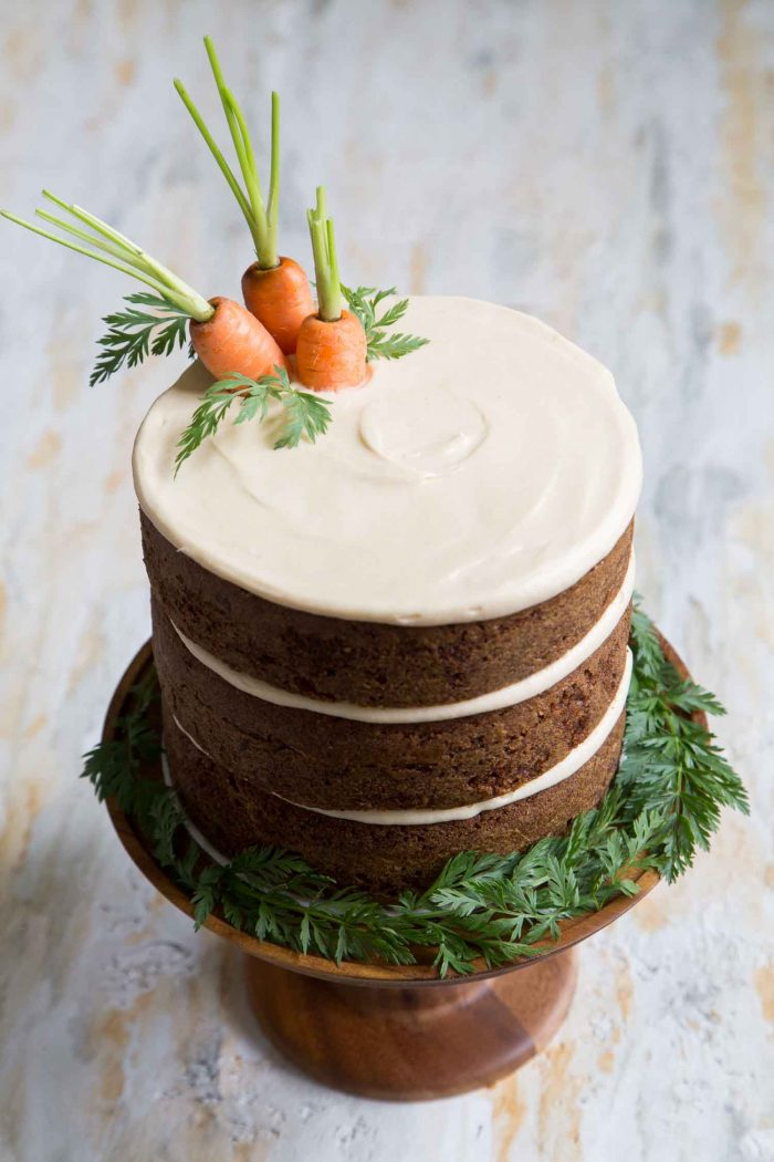 easy wedding cakes to decorate carrot cake with brown sugar cheese the 13859
