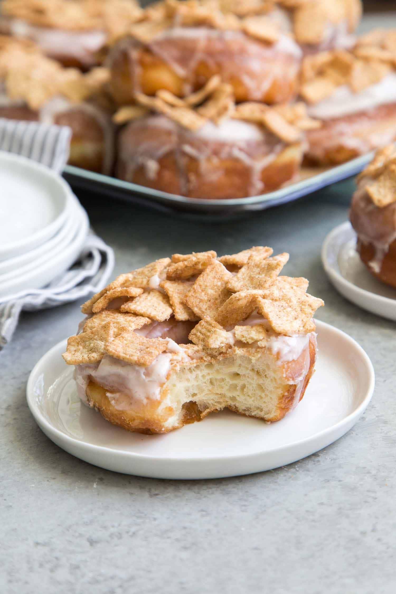 Cinnamon Toast Crunch Doughnuts