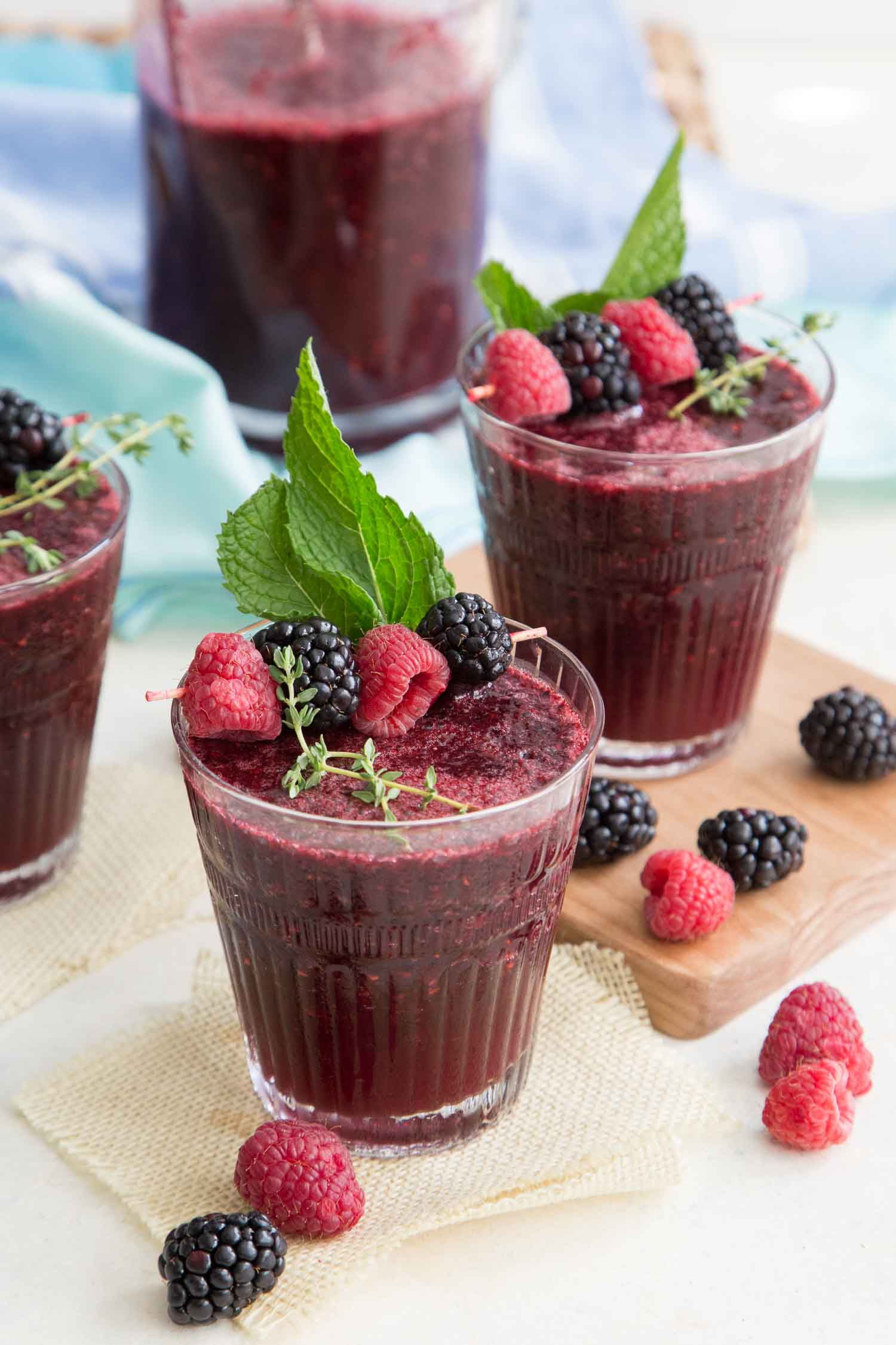 Blended Berry Bellini