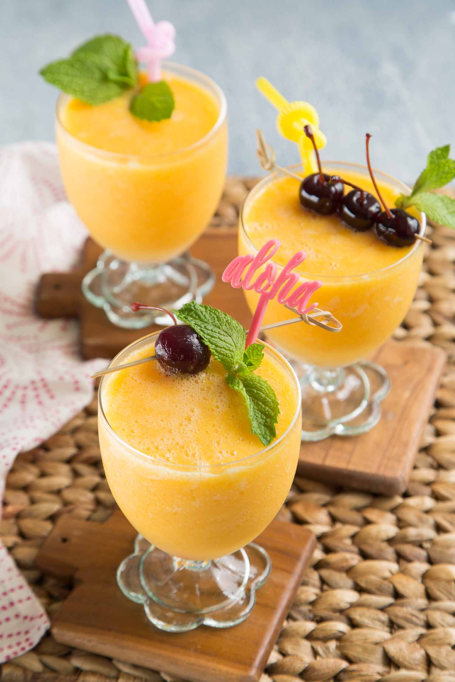 Tropical Sangria Slush
