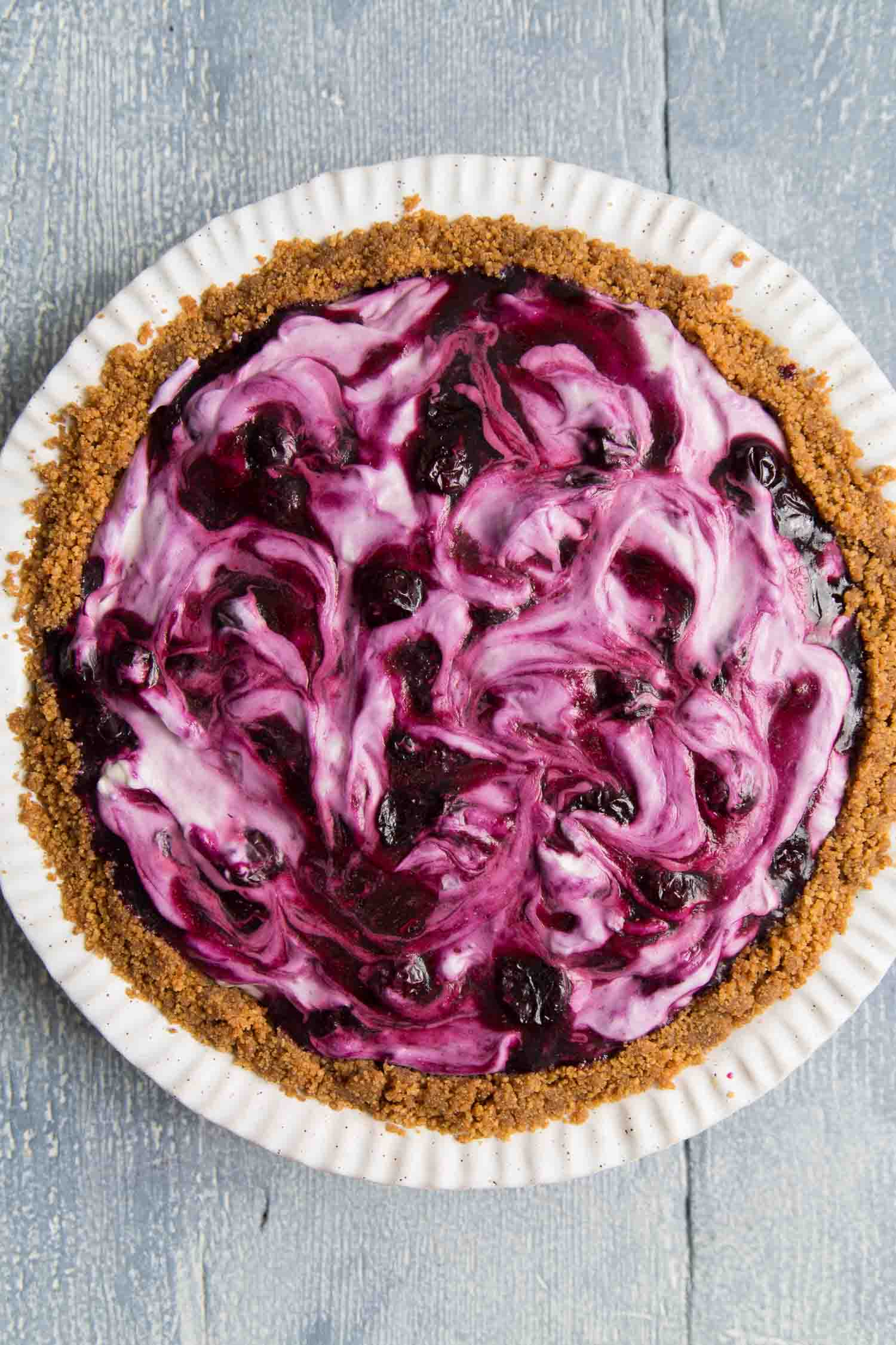 Blueberry Icebox Pie