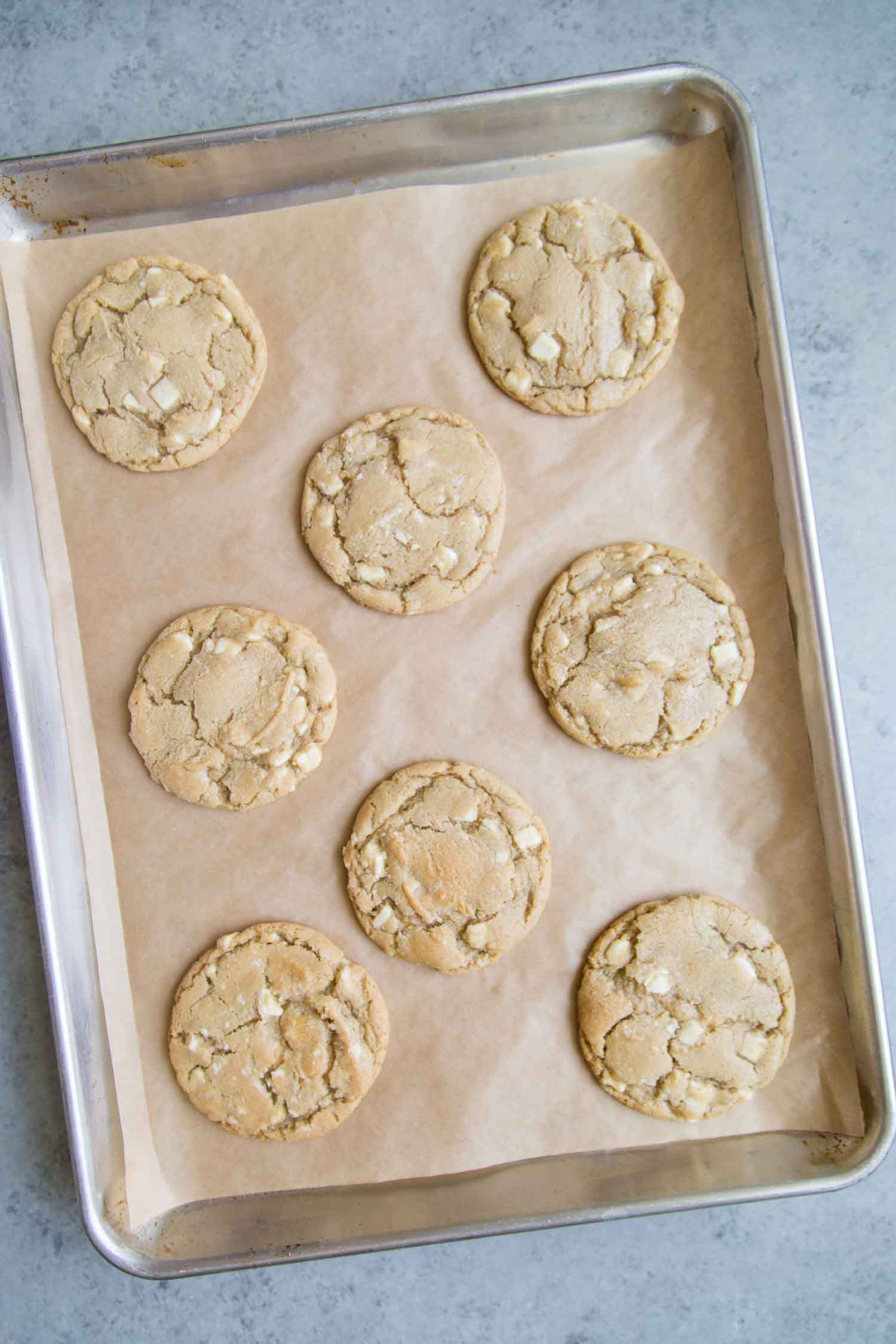 White Chocolate Earl Grey Cookies