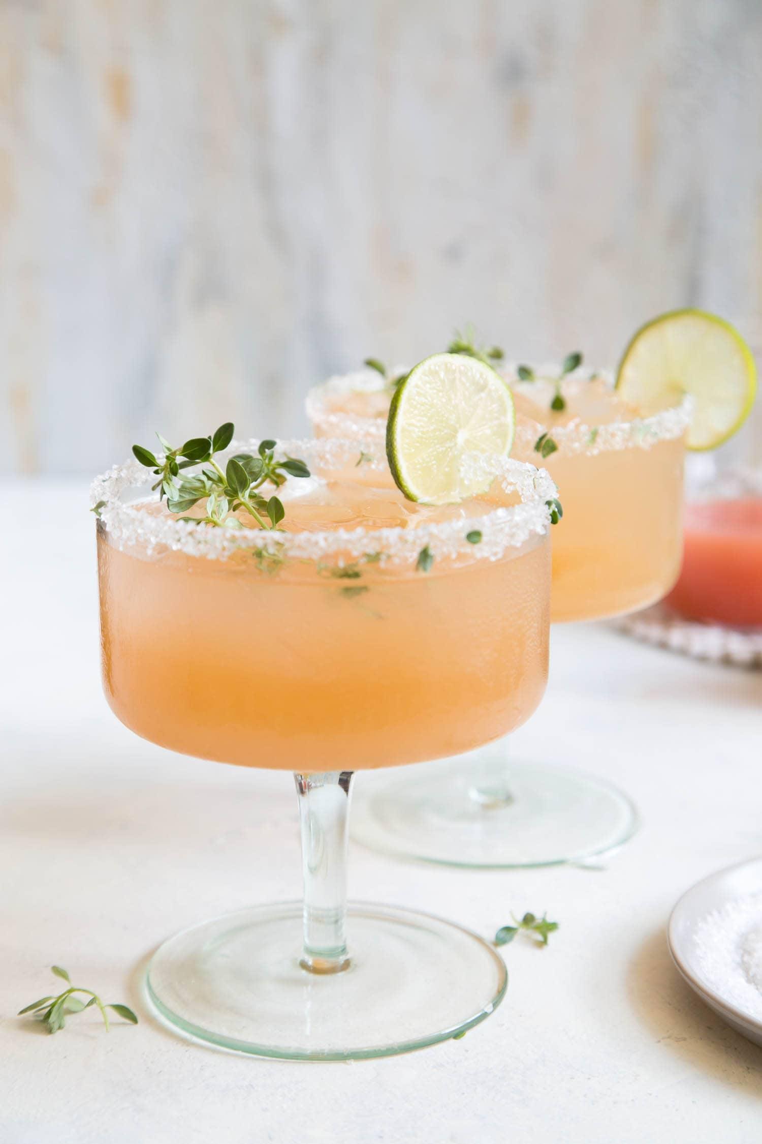 Honey Thyme Margarita
