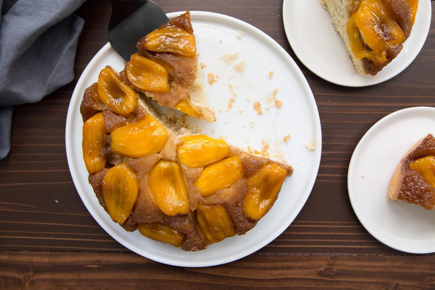 Jackfruit Upside Down Cake Recipe