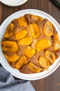 Jackfruit Upside Down Cake