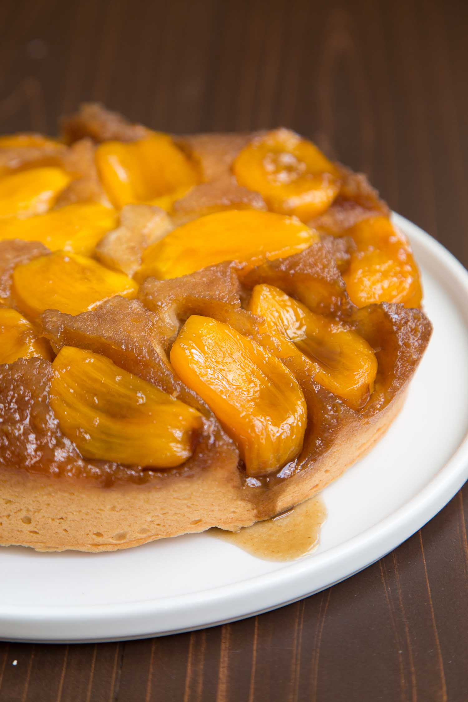 Jackfruit Upside Down Cake