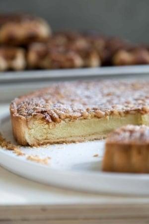 Almond Pine Nut Tart