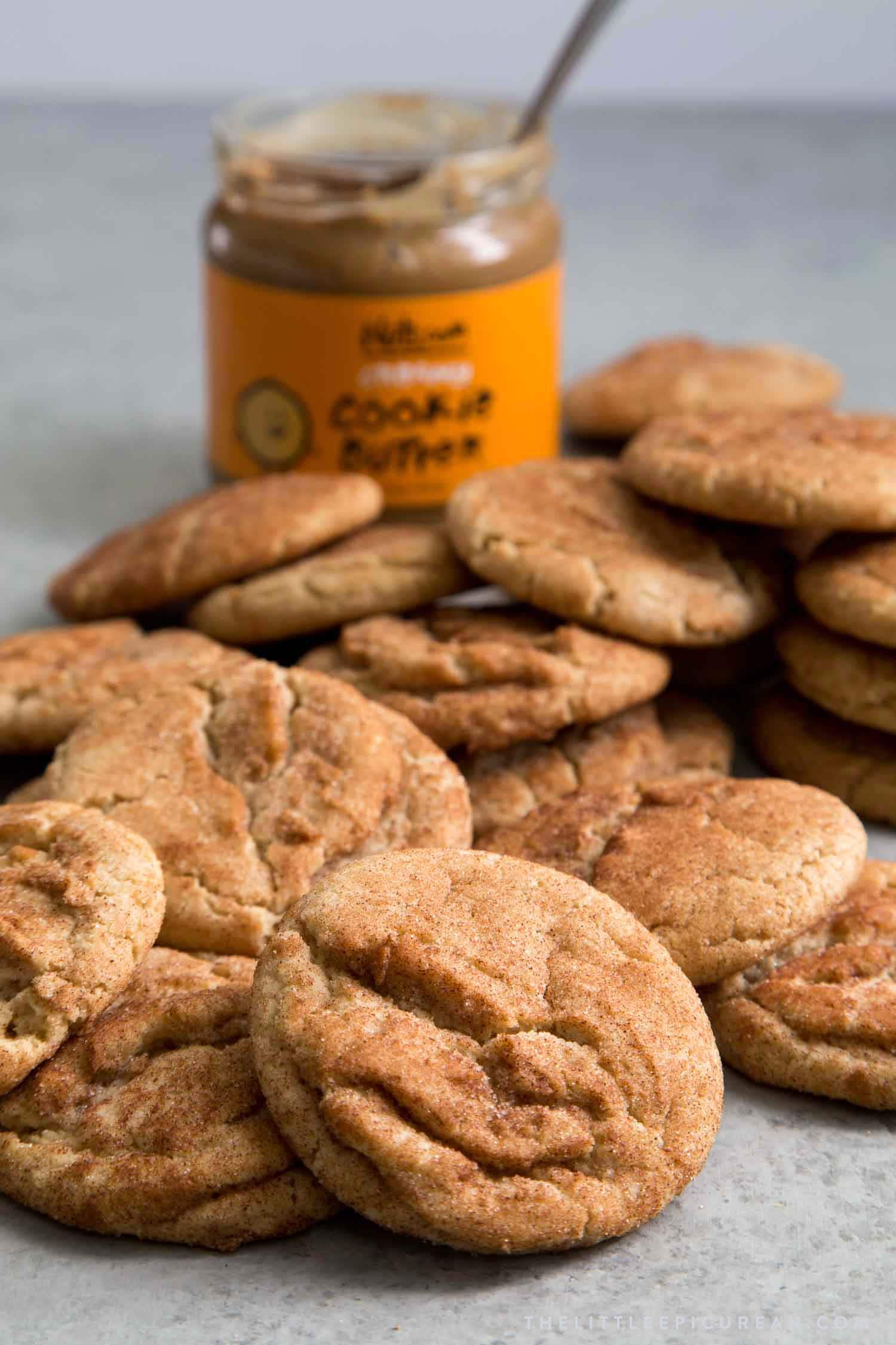 Cookie Butter Snickerdoodles