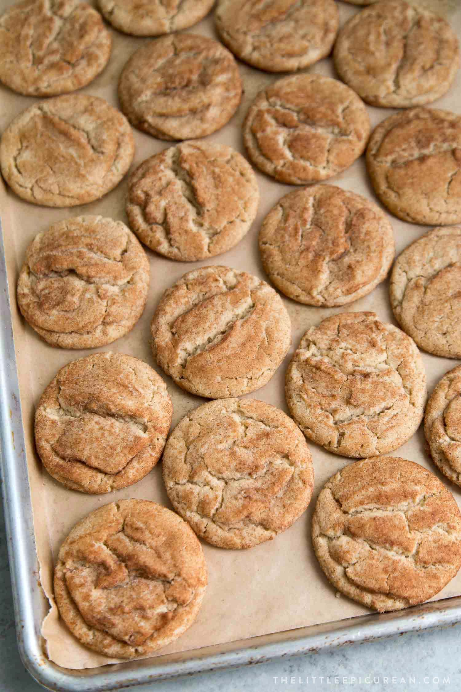 Cookie Butter Snickerdoodle Cookies