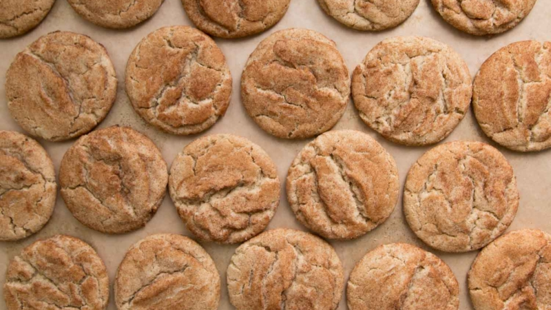 Cookie Butter Snickerdoodles
