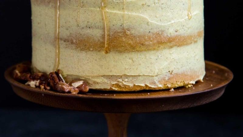 Golden Milk Layer Cake