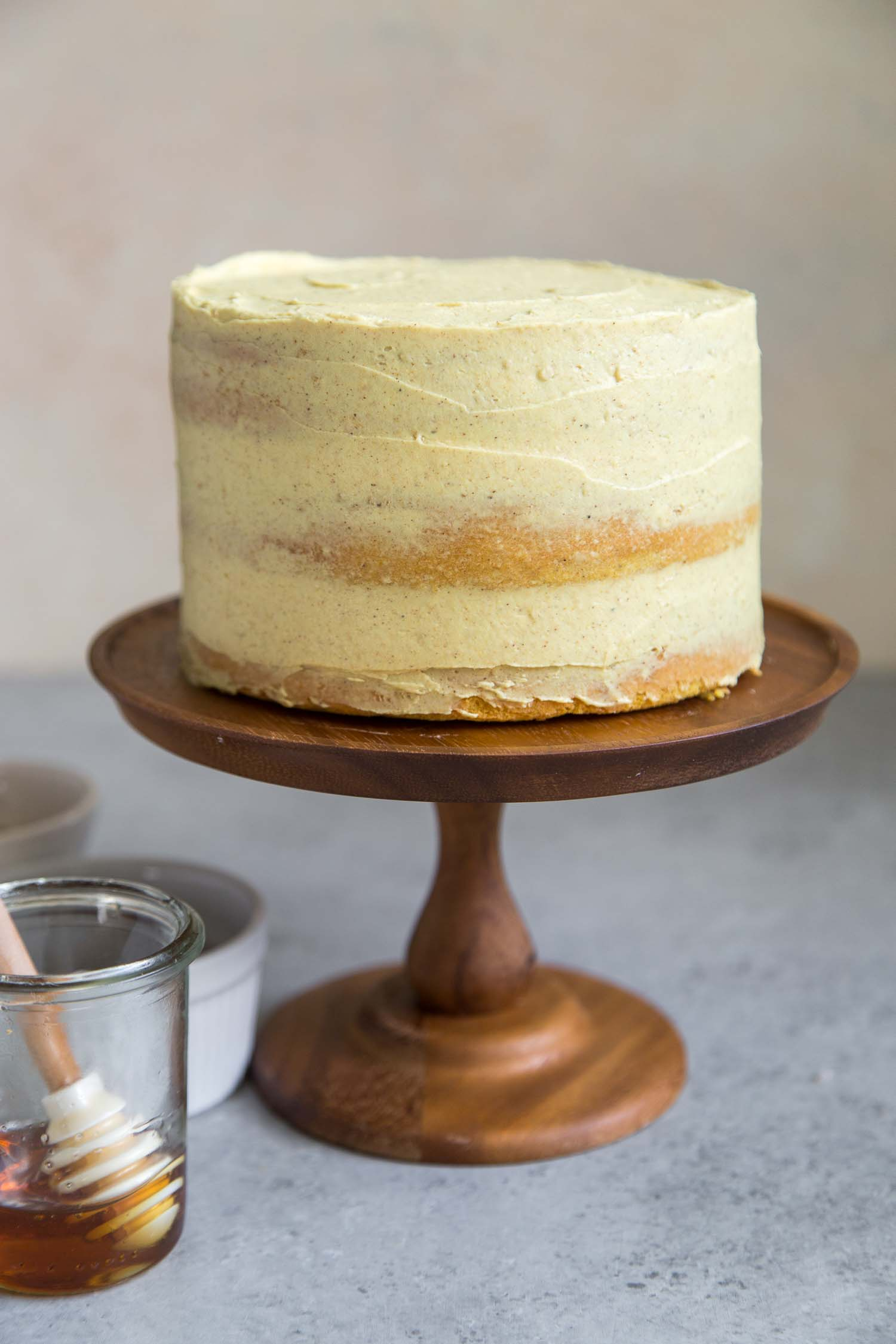 Golden Milk Layer Cake