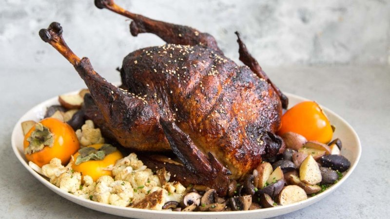 Soy Sauce Roasted Turkey