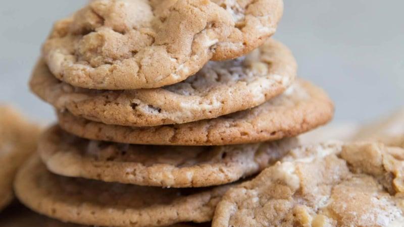 Walnut Halva Cookies