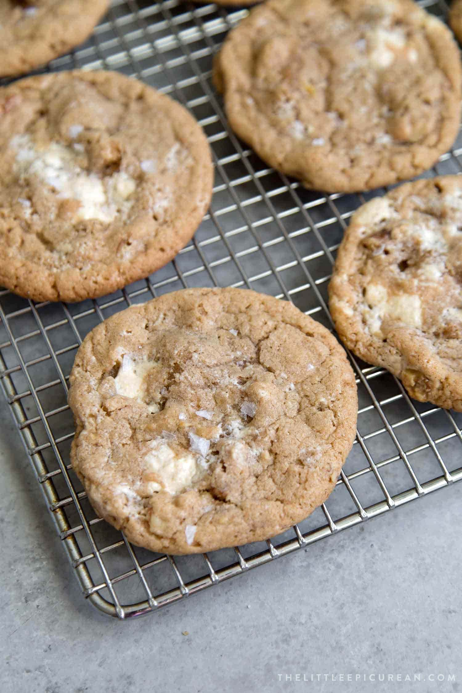 Walnut Halva Cookies