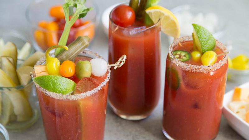 Bloody Mary Cocktail Three Ways