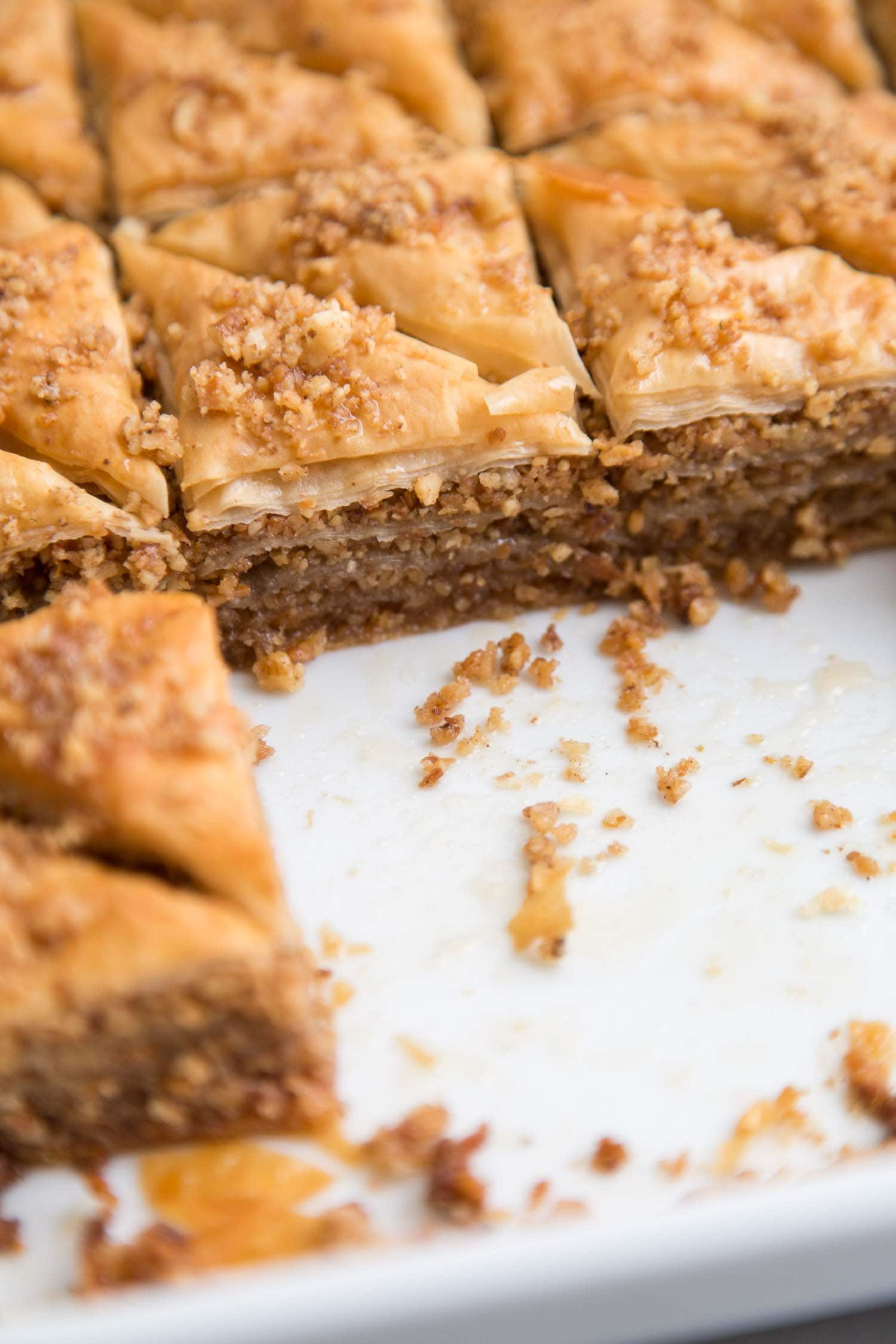 Coconut Walnut Baklava