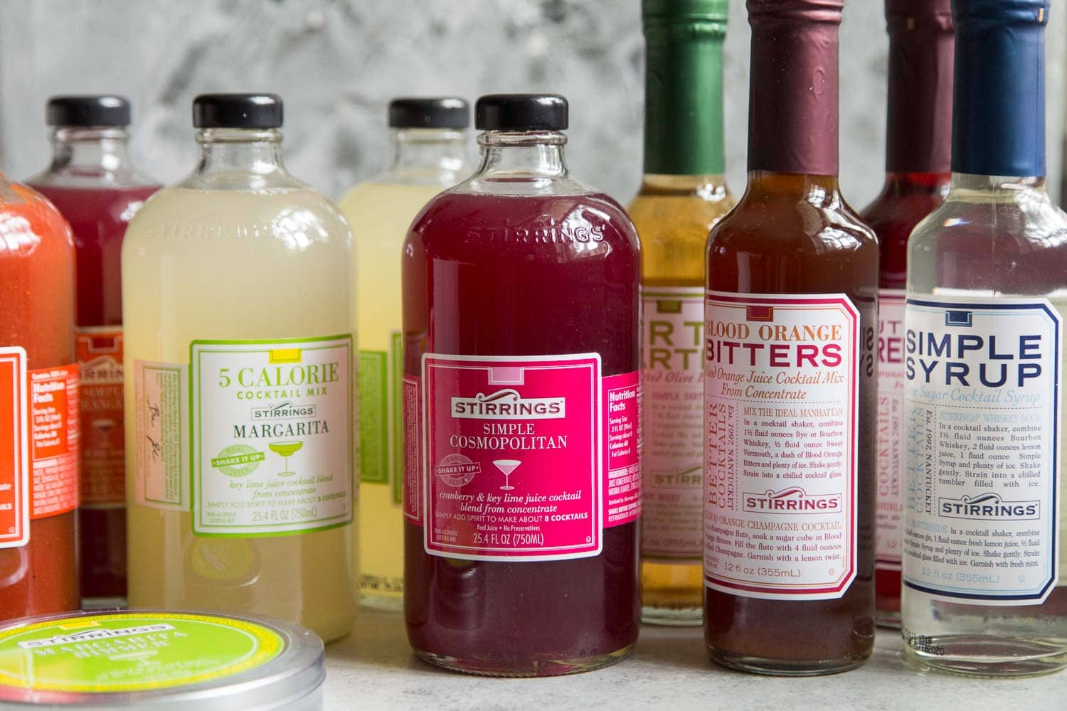 Stirrings Cocktail Mixers