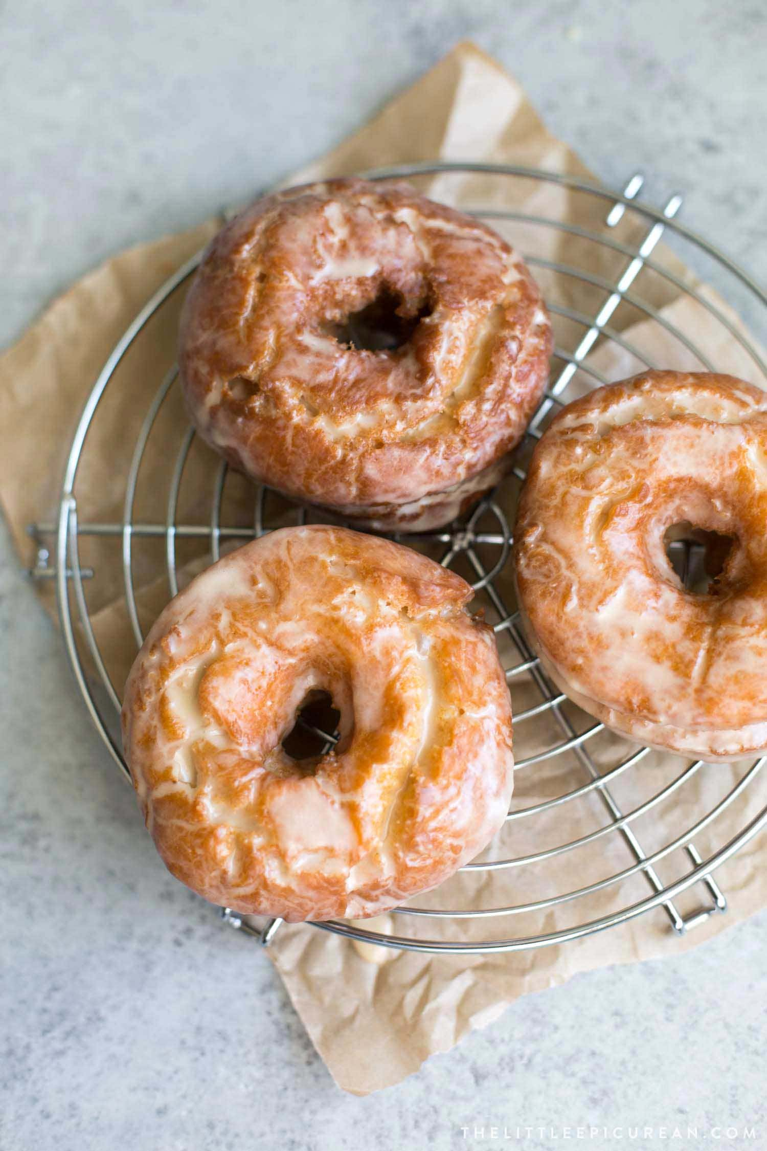 Sweet Potato Cake Doughnuts