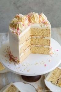 Ginger Grapefruit Layer Cake