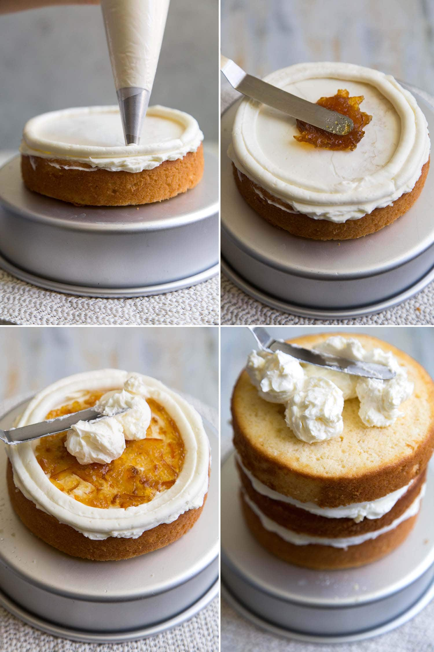 Ginger Grapefruit Layer Cake