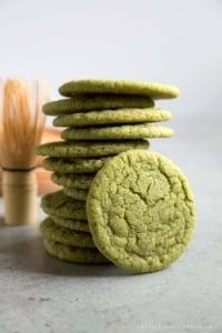Matcha Sugar Cookies
