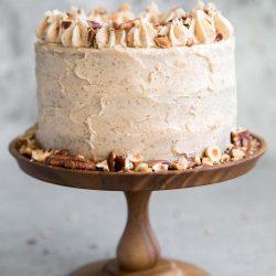 Nutty Espresso Cake