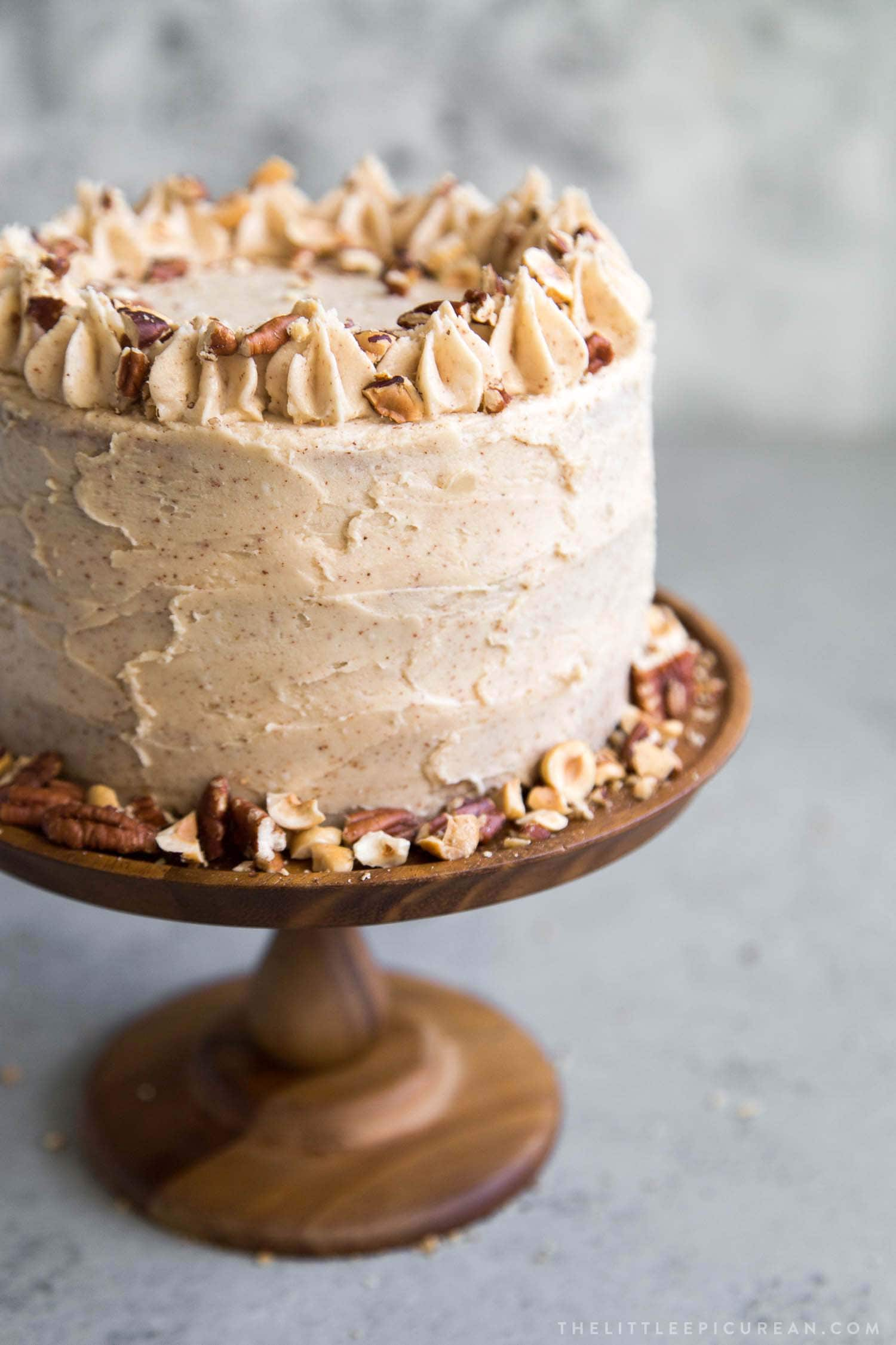 Nutty Espresso Cake with Brown Butter Frosting
